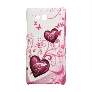 Image of Nokia Lumia 820 Design Plastik cover fra inCover - Two Hearts