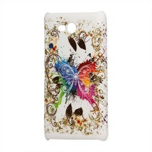 Image of Nokia Lumia 820 Design Plastik cover fra inCover - Pretty Butterfly