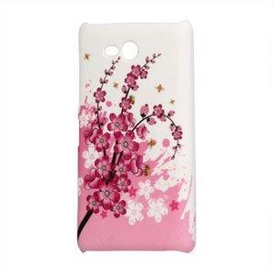 Image of Nokia Lumia 820 Design Plastik cover fra inCover - Peach Flower