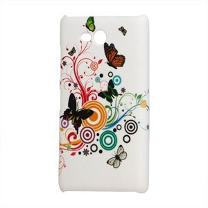 Image of Nokia Lumia 820 Design Plastik cover fra inCover - Butterfly Circle