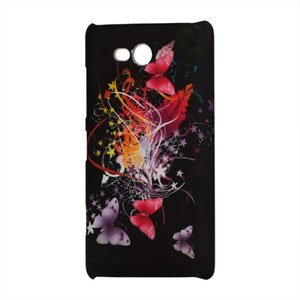 Image of Nokia Lumia 820 Design Plastik cover fra inCover - Black Butterflies