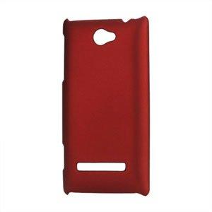 Image of HTC 8S Plastik cover fra inCover - rød