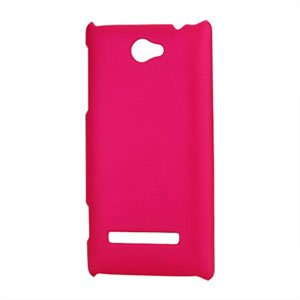 Image of HTC 8S Plastik cover fra inCover - rosa