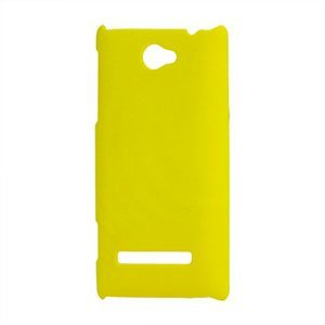 Image of HTC 8S Plastik cover fra inCover - gul