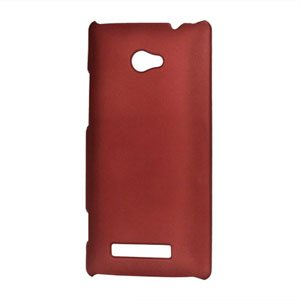 Image of HTC 8X Plastik cover fra inCover - rød