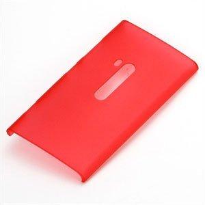 Nokia Lumia 920 Plastik cover fra inCover - rød gennemsigtig