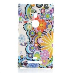 Billede af Nokia Lumia 925 inCover Design Plastik Cover - Flower Power