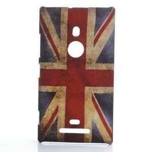 Billede af Nokia Lumia 925 inCover Design Plastik Cover - Union Jack
