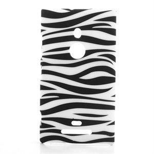Billede af Nokia Lumia 925 inCover Design Plastik Cover - Zebra