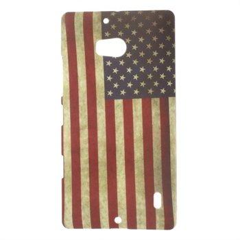 Image of Nokia Lumia 930 inCover Design Plastik Cover - Stars & Stripes
