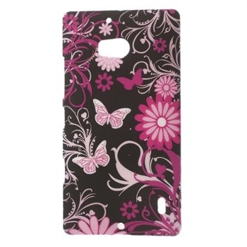 Image of Nokia Lumia 930 inCover Design Plastik Cover - Black Butterfly