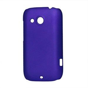 Image of HTC Desire C Plastik cover fra inCover - blå