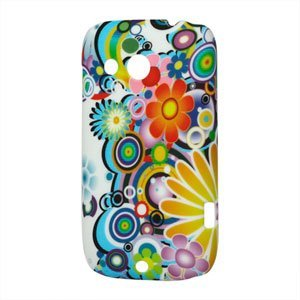 Image of   HTC Desire C Design Plastik cover fra inCover - Flower Power