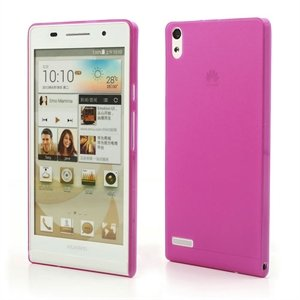 Image of Huawei Ascend P6 inCover Plastik Cover - Rosa