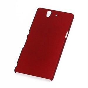 Billede af Sony Xperia Z Plastik cover fra inCover - rød