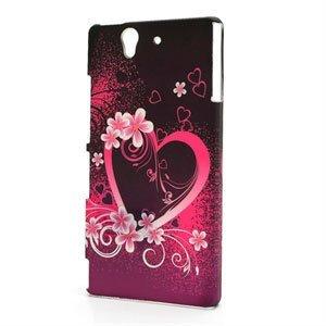 Billede af Sony Xperia Z Plastik Design cover fra inCover - Heart