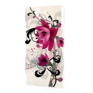 Billede af Sony Xperia Z Plastik Design cover fra inCover - Lotus Flower