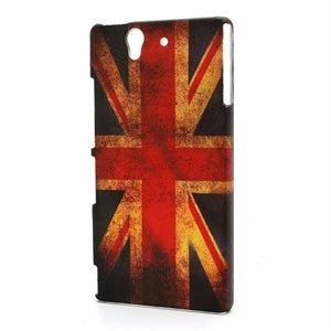 Billede af Sony Xperia Z Plastik Design cover fra inCover - Union Jack