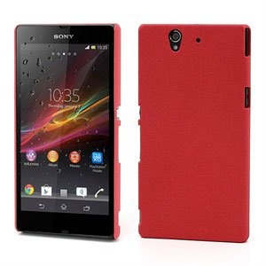 Billede af Sony Xperia Z inCover QuickSand Plastik Cover - Rød