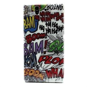 Billede af Sony Xperia Z Plastik Design cover fra inCover - Ha Ha Boom