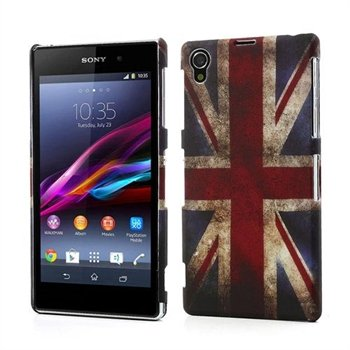 Image of   Sony Xperia Z1 inCover Design Plastik Cover - Union Jack