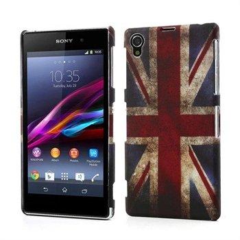 Billede af Sony Xperia Z1 inCover Design Plastik Cover - Union Jack