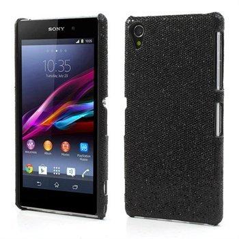 Billede af Sony Xperia Z1 inCover Design Plastik Cover - Sort Glitter