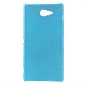 Billede af Sony Xperia M2 inCover Plastik Cover - Lys Blå