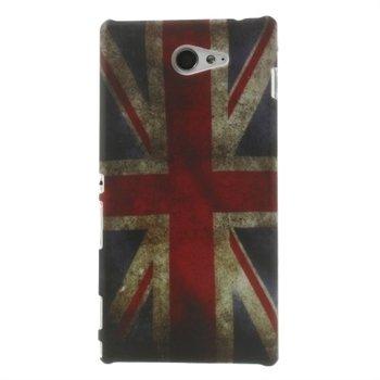 Billede af Sony Xperia M2 inCover Design Plastik Cover - Union Jack