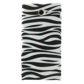 Billede af Sony Xperia M2 inCover Design Plastik Cover - Zebra