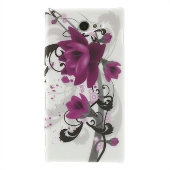 Billede af Sony Xperia M2 inCover Design Plastik Cover - Lotus Flower