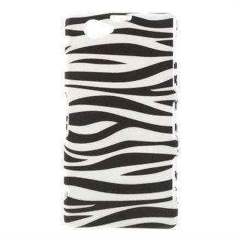 Billede af Sony Xperia Z1 Compact inCover Design Plastik Cover - Zebra