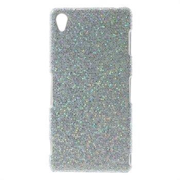 Billede af Sony Xperia Z3 inCover Design Plastik Cover - Glitter Sølv