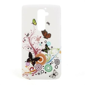 Image of LG G2 inCover Design Plastik Cover - Vivid Butterfly