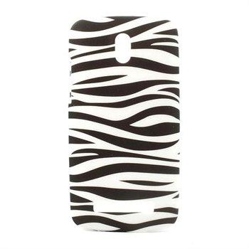 Image of HTC Desire 500 inCover Design Plastik Cover - Zebra