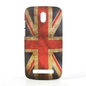 Image of HTC Desire 500 inCover Design Plastik Cover - Union Jack