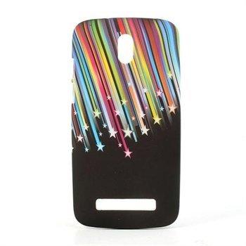 Image of HTC Desire 500 inCover Design Plastik Cover - Meteor