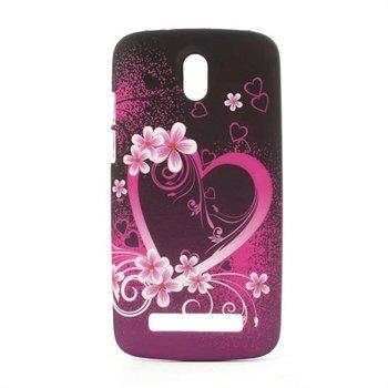 Image of HTC Desire 500 inCover Design Plastik Cover - Heart