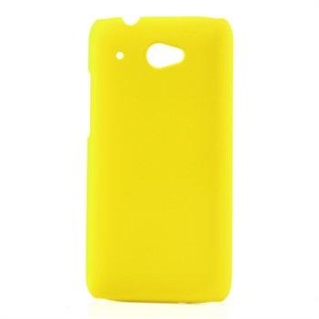 Billede af HTC Desire 601 inCover Plastik Cover - Gul
