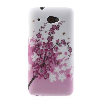Billede af HTC Desire 601 inCover Design Plastik Cover - Plum Blossom