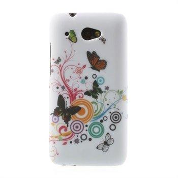 Billede af HTC Desire 601 inCover Design Plastik Cover - Vivid Butterfly