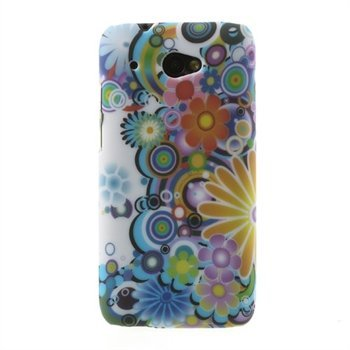 Image of   HTC Desire 601 inCover Design Plastik Cover - Flower Power