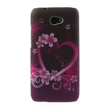 Billede af HTC Desire 601 inCover Design Plastik Cover - Heart