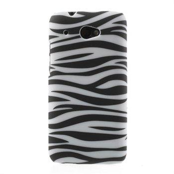 Billede af HTC Desire 601 inCover Design Plastik Cover - Zebra