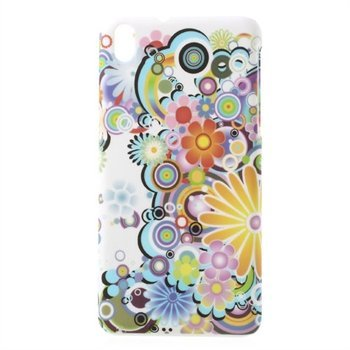 Image of   HTC Desire 816 inCover Plastik Cover - Flower Power