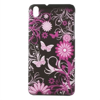 Image of HTC Desire 816 inCover Plastik Cover - Butterfly Flower