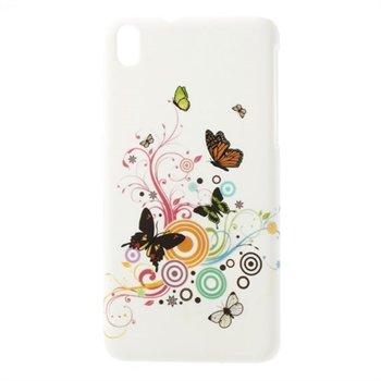 Billede af HTC Desire 816 inCover Plastik Cover - Vivid Butterfly