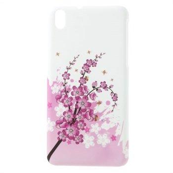 Billede af HTC Desire 816 inCover Plastik Cover - Plum Blossom