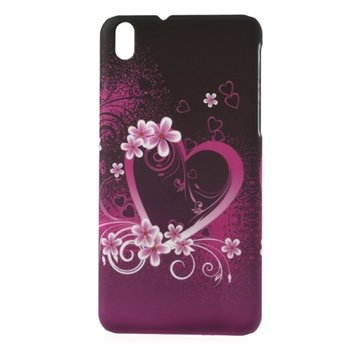 Image of HTC Desire 816 inCover Plastik Cover - Heart