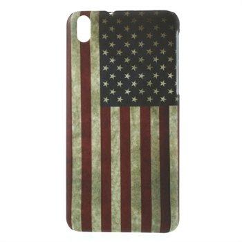 Billede af HTC Desire 816 inCover Plastik Cover - Stars & Stripes